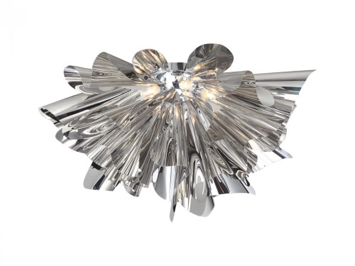 Avenue Light Bowery Lane 7 Light Silver LED Ceiling Light-HF-1303-CH LED