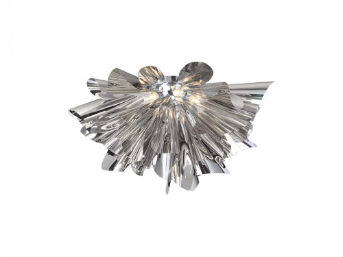 Avenue Light Bowery Lane 5 Light Silver LED Ceiling Light-HF1304-CH