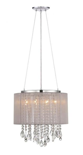 Avenue Light Beveryly Dr 6 Light Gray Mini Chandelier-HF1501-TP