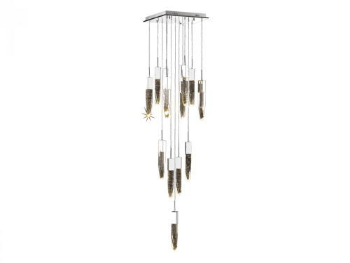 Avenue Light Aspen 13 Light LED Chrome Chandelier-HF1905-13-AP-CH