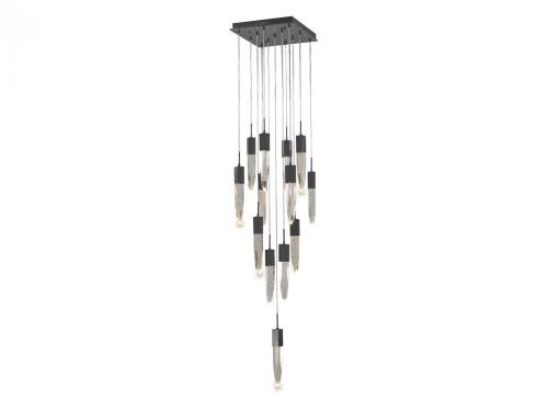 Avenue Light Aspen 13 Light LED Bronze Chandelier-HF1905-13-AP-DBZ