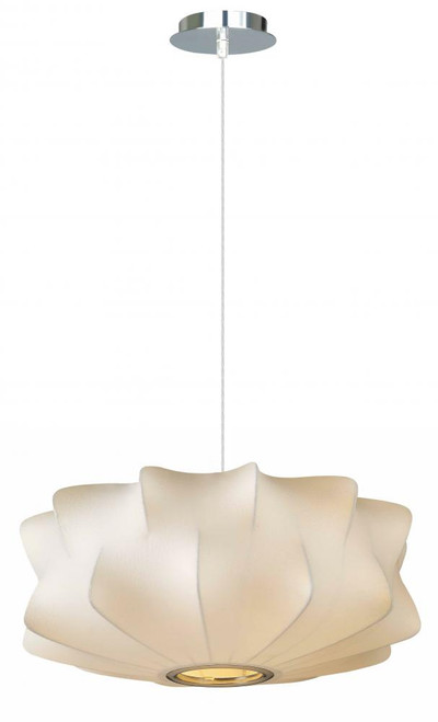 Avenue Light 14 Inch Melrose Pl White Pendant Light-HF2112-WHT