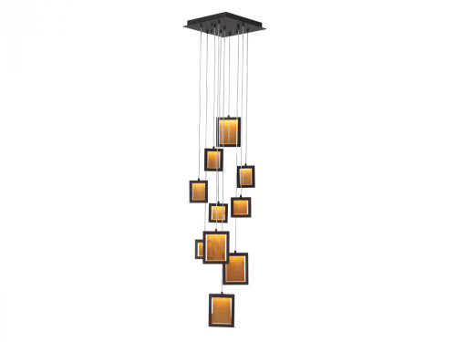 Avenue Light Brentwood 10 Light LED Bronze Chandelier-HF6010-DBZ
