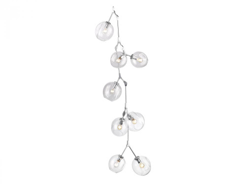 Avenue Light Fairfax 9 Light Matte Chrome Chandelier-HF8080-CH