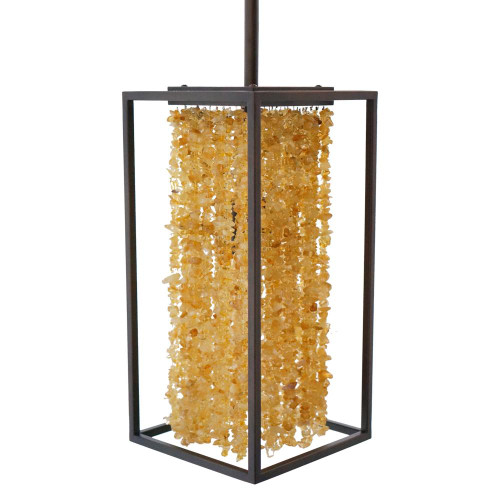 Avenue Light 8 Inch Soho Bronze Pendant Light-HF9002-DBZ
