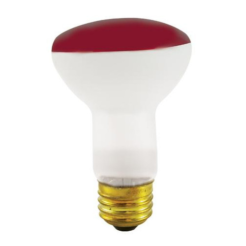 Bulbrite 50W R20 Reflector Wide Flood Red E26 120V 227050