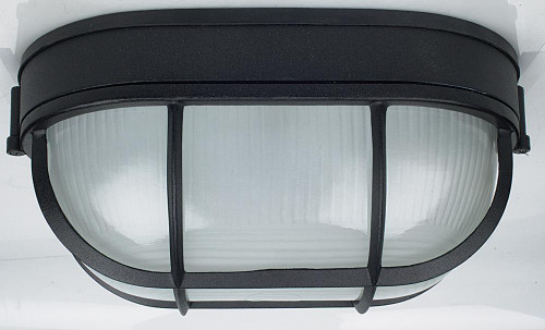 Sunset Bulkhead Black Outdoor Pendant Light-F7991-31