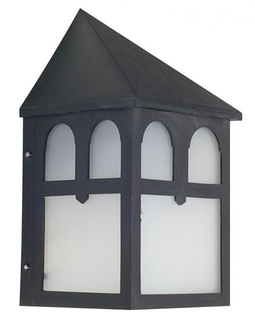 Sunset Black Outdoor Wall Light-F4344-31