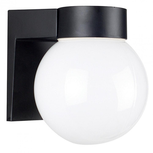Sunset Black Outdoor Wall Light-F4617-31