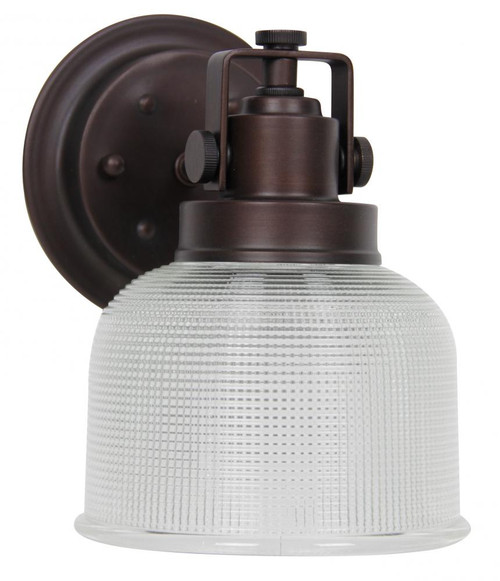 Sunset 1-Light Black Bathroom Vanity Light F3191-64