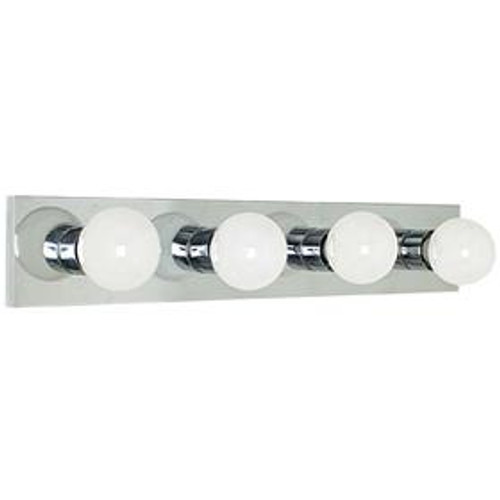Sunset Bath Bar 4-Light White Bathroom Vanity Light F2253-30