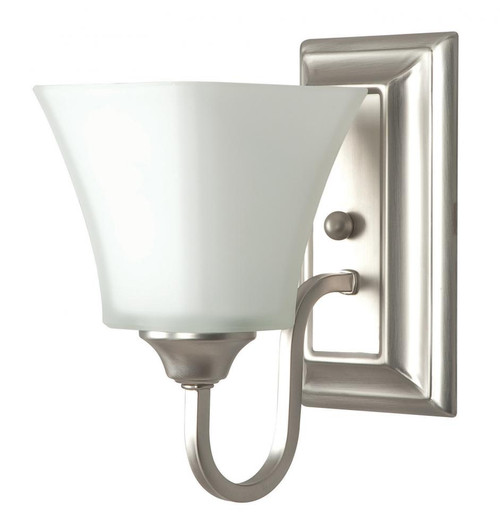 Sunset 5 Inch Satin Nickel Wall Sconce-F3681-53