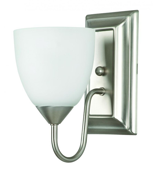 Sunset Cooper 5 Inch Nickel Wall Sconce-F3621-53