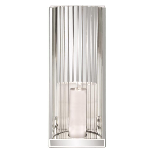 Howard Elliott Mirrored Wall Sconce  Inch Chrome Wall Sconce-99106
