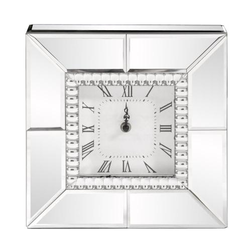 Howard Elliott Mirrored Table Clock-99175