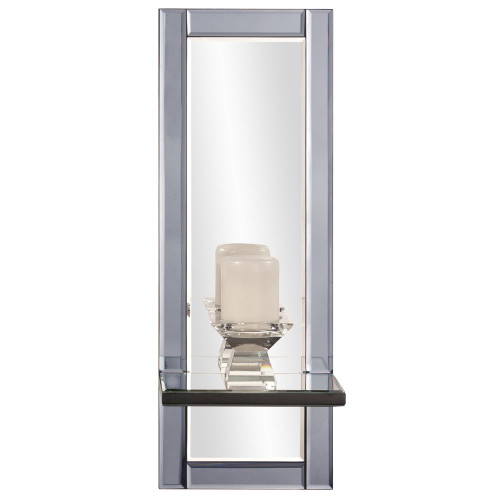 Howard Elliott Emerson Modern Mirror & Shelf-99039