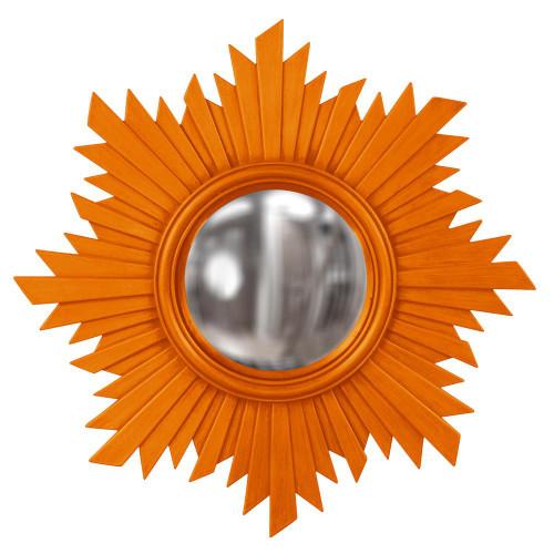 Howard Elliott Euphoria Orange Mirror-51268O