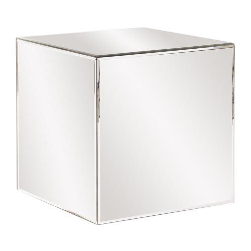 Howard Elliott Mirrored Cube Table-48013