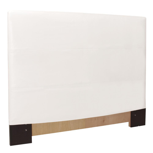 Howard Elliott Avanti White Twin Slipcovered Headboard-K122-190