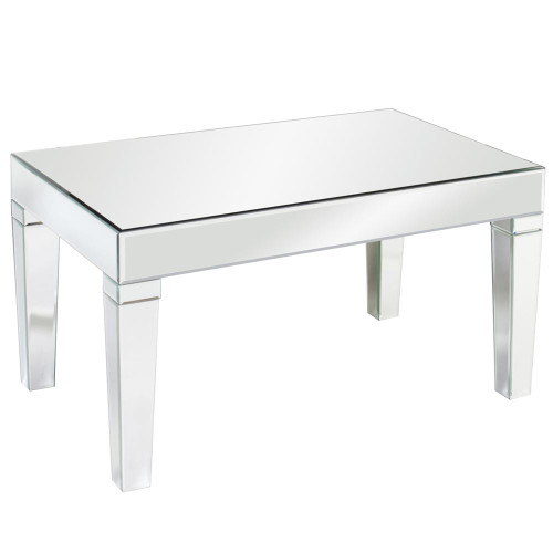 Howard Elliott Leo Mirrored Coffee Table-11095