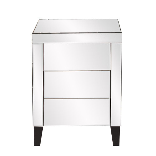 Howard Elliott Mirrored 3 Drawer Small Dresser-99026