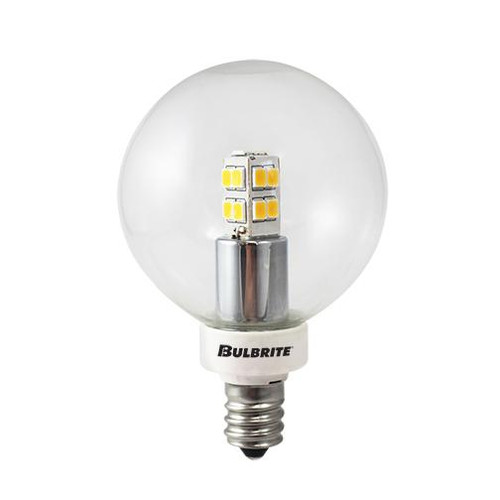 Bulbrite 25W LED G16 2700K E12 120V 770145