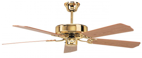 Concord 52 Inch California Home Collection Ceiling Fan - Polished Brass 52Ch5Bb