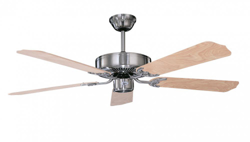 Concord 52 Inch California Home Collection Ceiling Fan - Stainless Steel 52Ch5St