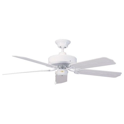 Concord 52 Inch Nautika Outdoor Ceiling Fan - White 52Na5Wh