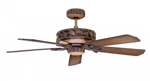 Concord 52 Inch Ponderosa Ceiling Fan For Wet Location - Old World Leather 52Pd5Owl