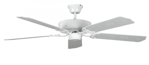 Concord 52 Inch Porch Ceiling Fan - White 52Por5Wh