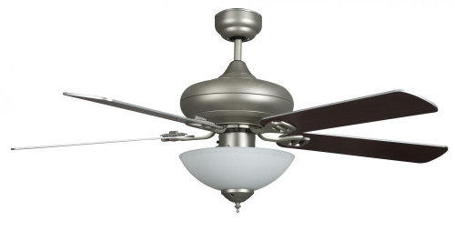 Concord 52 Inch Valore Quick Connect Ceiling Fan W/3 Light Kit - Satin Nickel 52Valqc5Esn