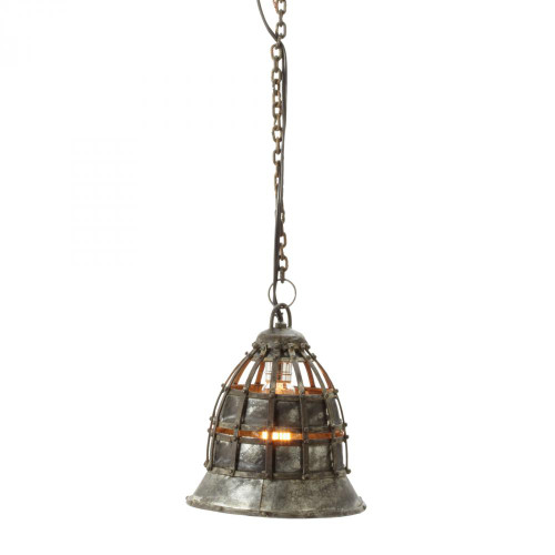 Dimond Fortress Silver Pendant Light-135003