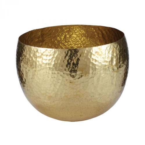 Dimond Gold Hammered Brass Dish - Small 346022