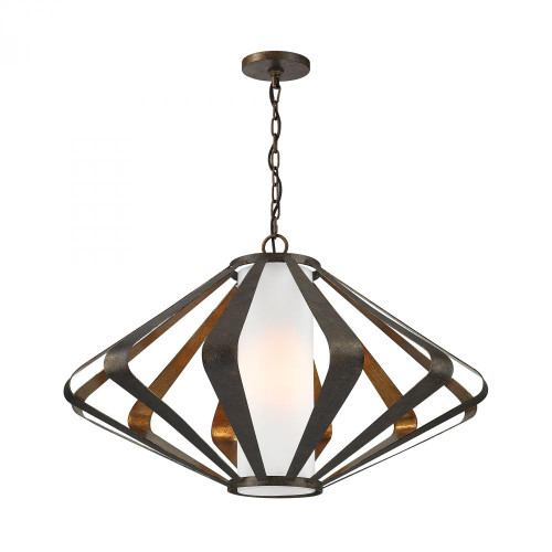 Dimond Reflex Black Pendant Light-1141-012