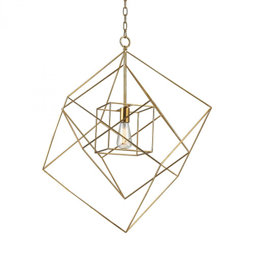 Dimond Neil Gold Leaf Pendant Light-1141-014