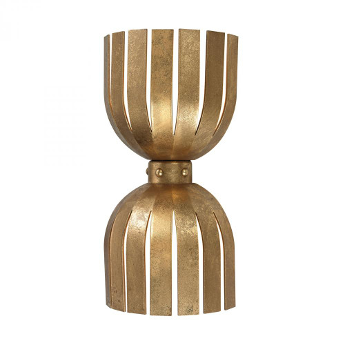 Dimond Olympia Double Wall Sconce In Gold Leaf 114-141
