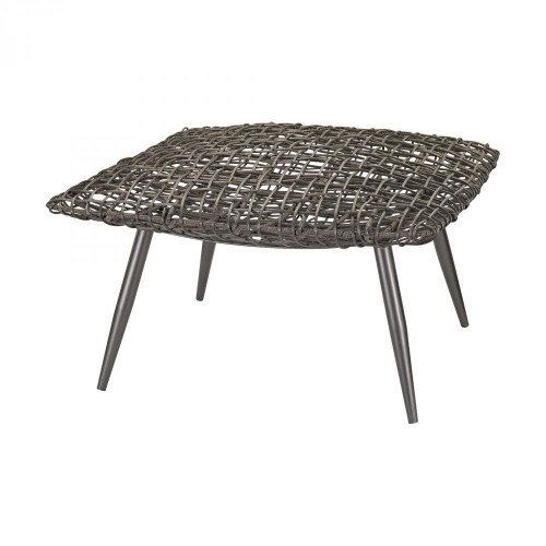 Dimond Woven Wicker Stool 3200-016