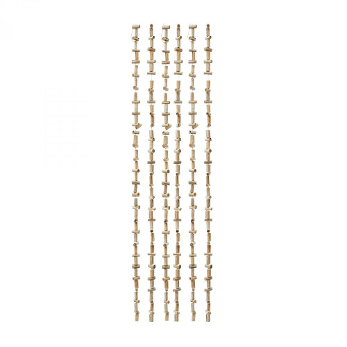 Dimond Coco Boat Spiral Garland - Set Of 2 742024/S2