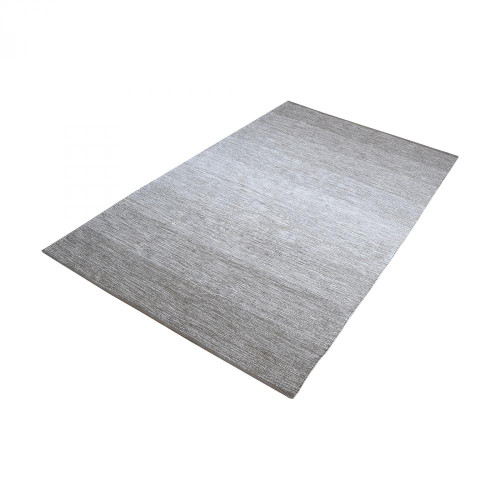 Dimond Delight Handmade Cotton Rug In Grey - 25Ft X 8F 8905-022