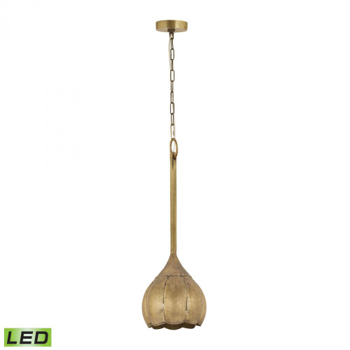 Dimond All LED Gold Pendant Light-8985-050-LED