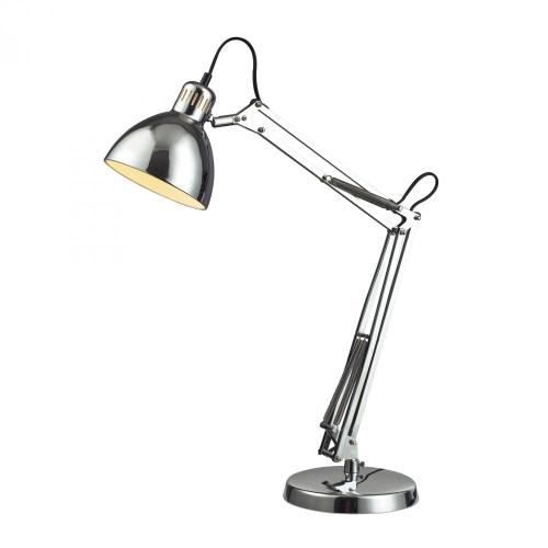 Dimond Ingelside Desk Lamp In Chrome With Chrome Shade D2176