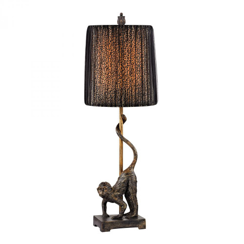 Dimond Aston Monkey Table Lamp In Bronze D2477