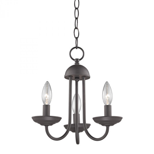 Elk Cornerstone Williamsport 3 Light Mini Chandelier In Oil Rubbed 1523Ch/10
