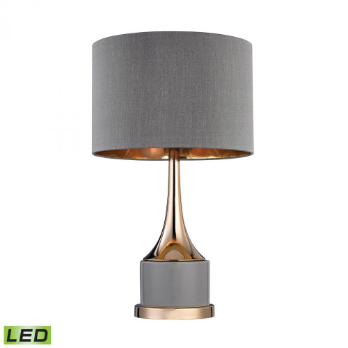Dimond Small Gold Cone Neck LED Lamp D2748-LED