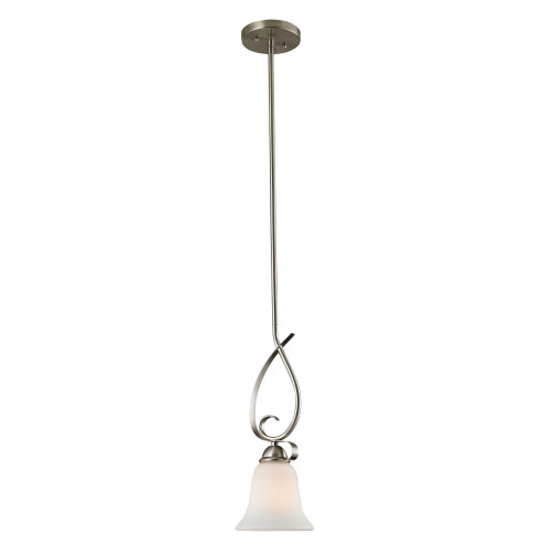 Elk Cornerstone Brighton Nickel Pendant Light-1001PS/20