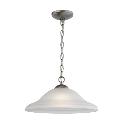 Elk Cornerstone Conway Nickel Pendant Light-1201PL/20