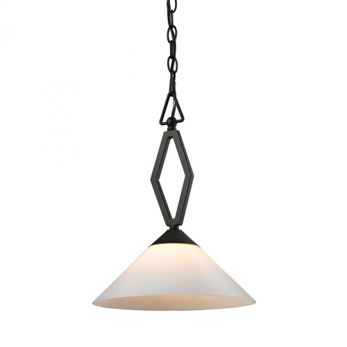 Elk Cornerstone 11.75 Inch Tribecca Bronze Pendant Light-2401PL/10
