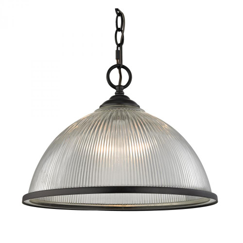 Elk Cornerstone 15 Inch Liberty Park Bronze Pendant Light-7691PL/10