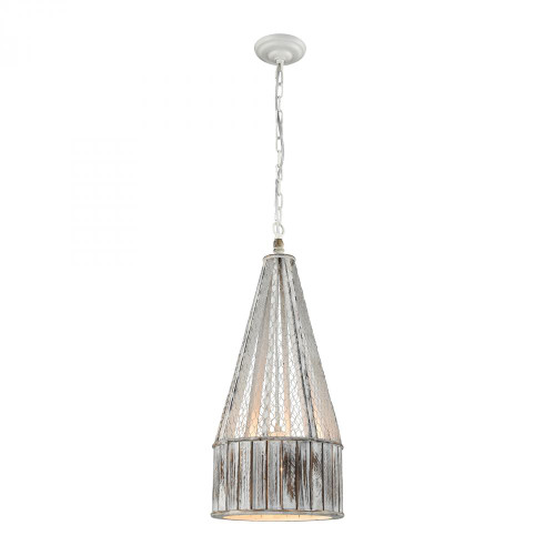 Dimond Pennant Point Wood Pendant Light-D3106